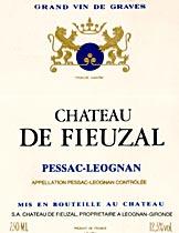 CHATEAU DE FIEUZAL ROUGE 2006